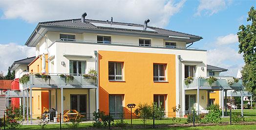 wohnungsbau als kfw effizienzhaus 55 architekturb ro. Black Bedroom Furniture Sets. Home Design Ideas